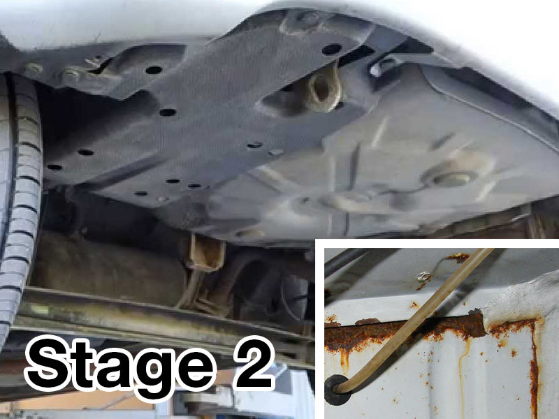 Stage 2 Rust Corrosion