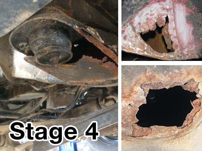 Stage 3 Rust Corrosion